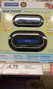 The First Years  - Premium Digital Baby Monitor only £4.75 @ Tesco