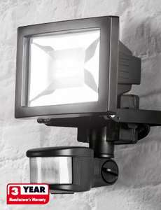 Led Spotlight With Motion And Twilight Sensor 12 99 At Lidl