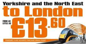 Grand Central Rail cheap tickets to London