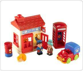 HappyLand Post Office Set @ elc was £15 now £7.50