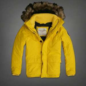 Mens Abercrombie & Fitch DOUGLASS MOUNTAIN PARKA - £42.45 delivered