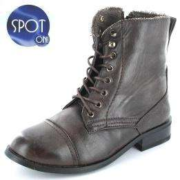 Ladies brown ankle boot sizes 3 or 4 only £3.60 delivered with code @ Gluv Footwear