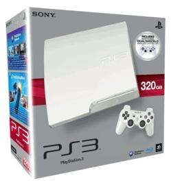 PlayStation 3 320GB Slim - White with 90 day PlayStation Plus Membership - £229 @ GAME