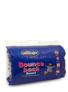 Silentnight Bounceback 13.5 Tog Double Duvet £19.50 with code at BHS online.