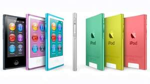 iPod Nano 16GB 7th Generation from John Lewis - Blue, Green, Pink, Yellow, Purple