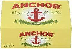 Anchor butter 2 x 250g  £2 at Lidl from Thurs