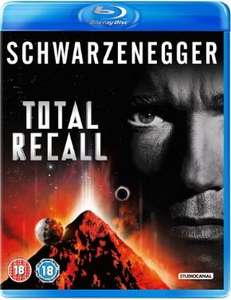 Total Recall - Ultimate Rekall Edition (Blu Ray) £5.00 @ Sainsburys Online