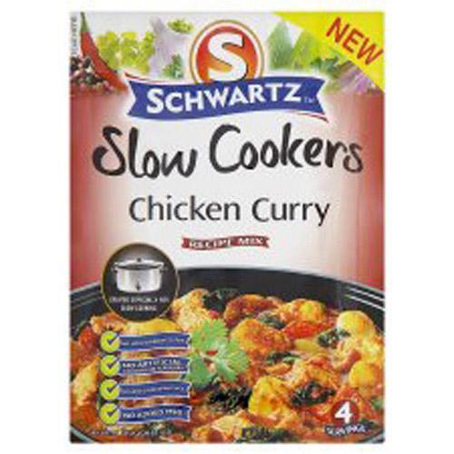 Schwartz Slow Cooker Sauce Mixes 50p @ Morrisons usually 95p