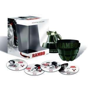 Rambo: The Complete Collection Box Set (Special Grenade Packaging) (4 Discs) (Blu-ray) £17.69 @ Play