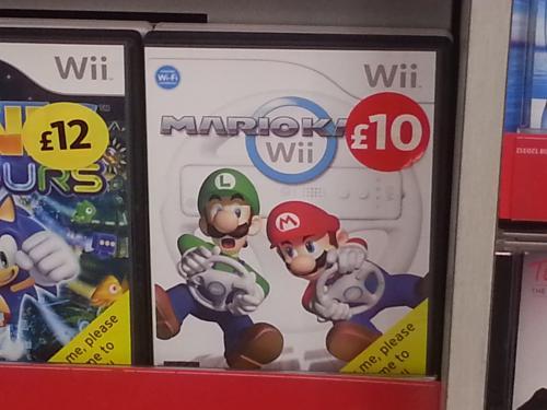 Mario kart wii £10 morrisons at Morrisons