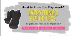 Shoeaholics.com everything £29 or less! - Kurt Geiger, Converse, Dr Martens, Guess, Lipsy, Nine West...