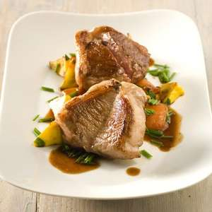 Donald Russell Lamb Valentine Steaks £20.00 - free delivery - Prepare for your HOT Valentine