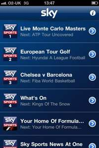Sky Sports TV App - Includes Sky Sports and ESPN - £4.99 Per Month