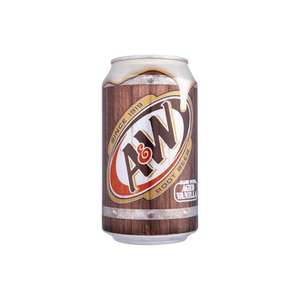 A&W Root Beer 355 ml (Pack of 12) - £8.14 Sub & Save @ Amazon