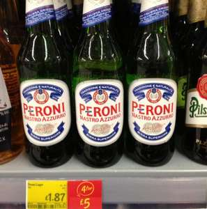 Large bottles Of Peroni 4 for £5.00 @ Asda
