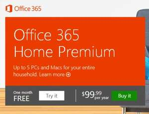 Microsoft Office 365 Home Premium 1yr licence for 5 devices in one household £70.02 @ Okobe