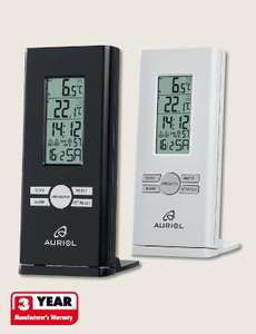 Temperature Station Indoor and Outdoor £9.99 @ Lidl from Monday 4th