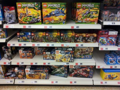 All Lego 50% Off at Sainsburys Preston