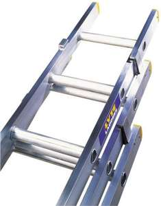 Lyte ELT340 Triple Extension Ladder 10.22m full height £143 delivered (Toolline)