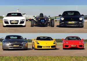 6th Gear Experience - Supercar drive from £39.50 with 50% off code