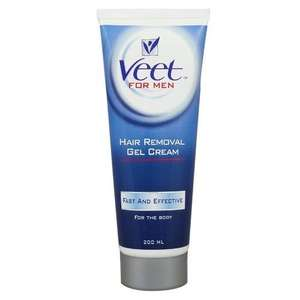 Veet for Men Hair Removal Gel Creme 200 ml £6.11 @ Amazon