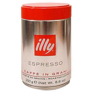 Illy Roasted Coffee Beans, 250G £5.89 John Lewis