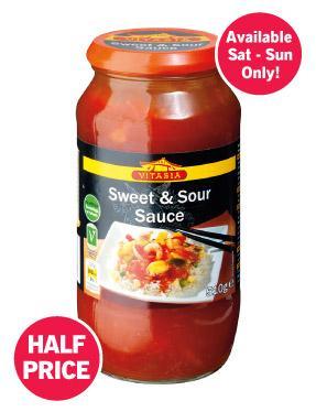 Sweet & Sour Sauce 510g 39p @ LIDL