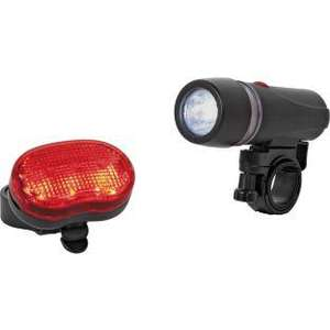 Challenge Superbright 5 LED Front and Rear Bike Lights @ argos. original price £14.99 now £2.99