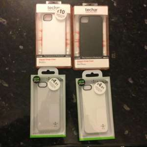 Belkin and Tech21 iPhone 5 Cases 91p instore @ currys