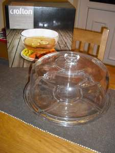 Glass Cake Stand £9.99 at Aldi Leicester (Meridian)