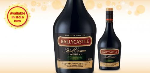 Ballycastle Irish Cream Liqueur PREMIUM £5.99 @ Aldi
