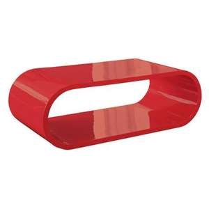 Coffee Table in Gloss Red £99.00 @ Dwell