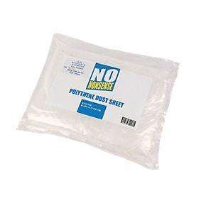 No Nonsense® Polythene Dust Sheets Pack of 2 £0.99 @ Screwfix