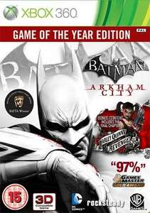 Batman Arkham City - Game Of The Year Edition (Xbox 360) for £12.95 @ The Game Collection