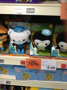 Octonauts Plush toys 70% off at Sainsburys In Store £2.99