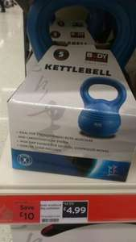 5kg Kettlebell £4.99 instore @ Sainsburys, was £14.99