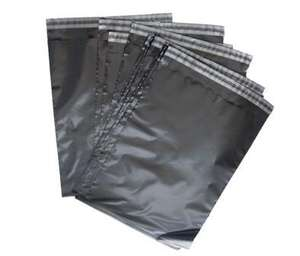 "100 Grey Plastic Mailing, Mail, Postal, Post Bags 6"" x 9""  (155mm x 230mm) £2.55 delivered  @ ebay Neotechs"