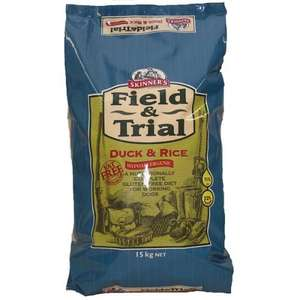 Skinners Field & Trial Duck And Rice (15kg) X2 £36.52 @petmeds.co.uk