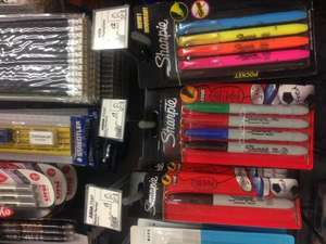 Sharpie pens - 4 pack of 4 colours - just £1 in Asda!