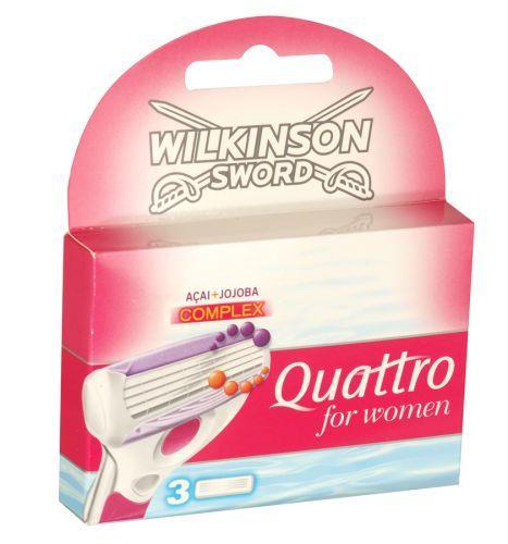 Wilkinson sword Quattro £3.99 @Concord