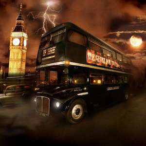 London Ghost Bus Tour 2 for 1 Voucher For Use With National Rail Tickets £20