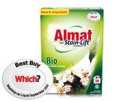 Almat washing powder (Which? Best 2012) 30 washes for £2.99 @Aldi