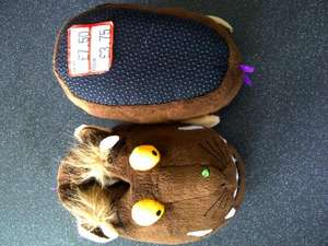 Gruffalo Slippers (kids) half price £3.75 Sainsbury's in-store