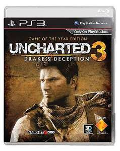 Uncharted 3 Drakes Deception GOTY New on PS3 £12.48 @ Asda Direct