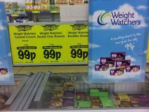 Lidl - 99p weight watchers meals & desserts
