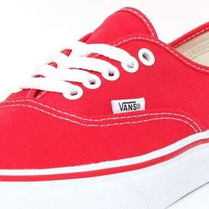 Vans Authentic Red - £24.99 @ Office Shoes