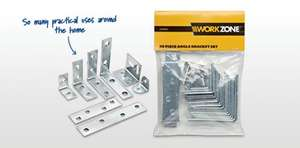 38 piece angle bracket set - instore Aldi from Sunday 10th Feb - £2.99