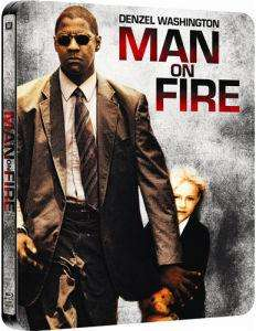 Man on Fire blu ray steelbook edition £8.95 preorder at Zavvi