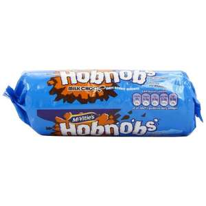 Mcvities Hobnobs Milk Chocolate 300 g (Pack of 6) £6.26 Delivered @ Amazon