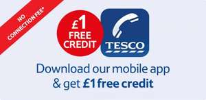 Tesco International Calling Card, FREE £1 credit with android/iOS app